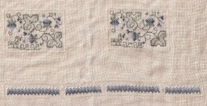 elizabethan stitching accessories cushion 425