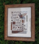 425 Missing You framed